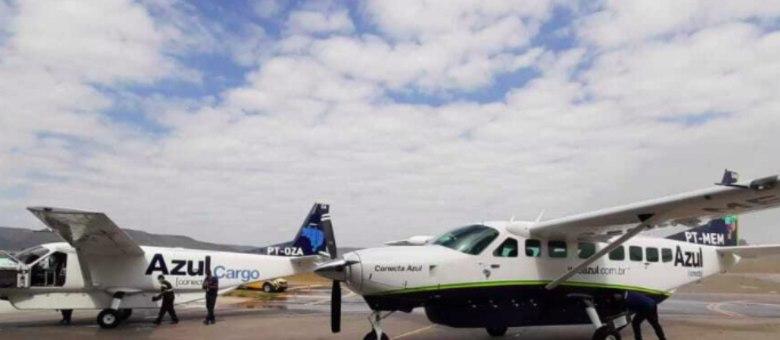 Aviões Cesna Gran Caravan da Azul Conecta