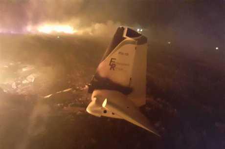 Avião, com drogas, cai no interior de São Paulo