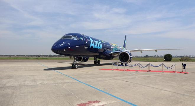 Embraer E195-E2 entregue para Azul Linhas Aéreas nesta quinta-feira (12)
