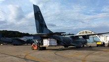 Aviões da FAB levam vacina contra covid-19 para 11 capitais