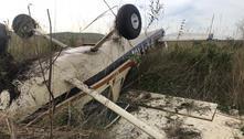 Avião de pequeno porte cai na região de Ribeirão Preto (SP)