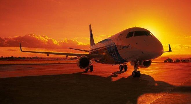 Atualmente a Embraer está entre as maiores fabricantes de jatos de passageiros do mundo