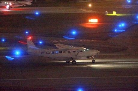 Avião da Polícia Federal com Lula partiu de Congonhas