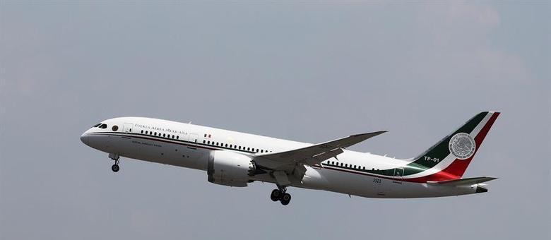 Novíssimo Boeing 787 deixará de ser propriedade do governo mexicano