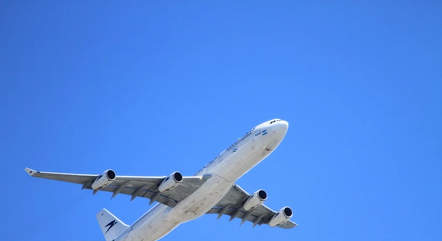 Avião pousou no Aeroporto Internacional de Confins