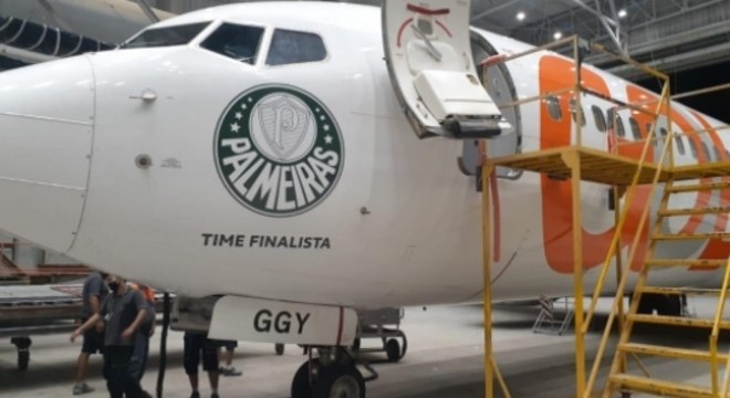 Avião Palmeiras Libertadores