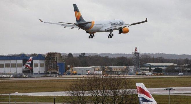 O aeroporto de Gatwick gastou 5 milhões de libras para se defender de possíveis ataques de drones