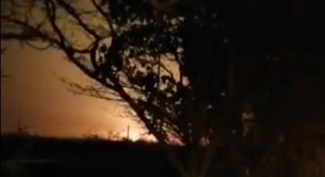 Primeiras imagens do avião que caiu no Irã