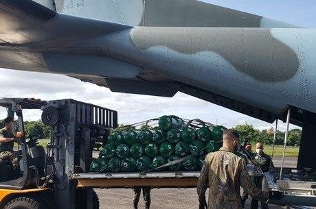 Aviões da FAB partiram da capital do AM, Manaus