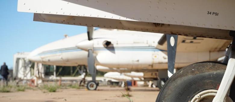 Estacionamento das aeronaves estão atrasados e já somam mais de R$ 3 milhões