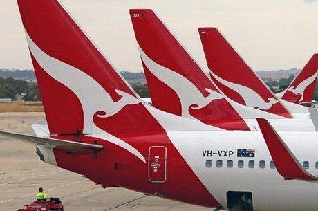 Australiana Qantas oferece uma das rotas mais longas do mundo