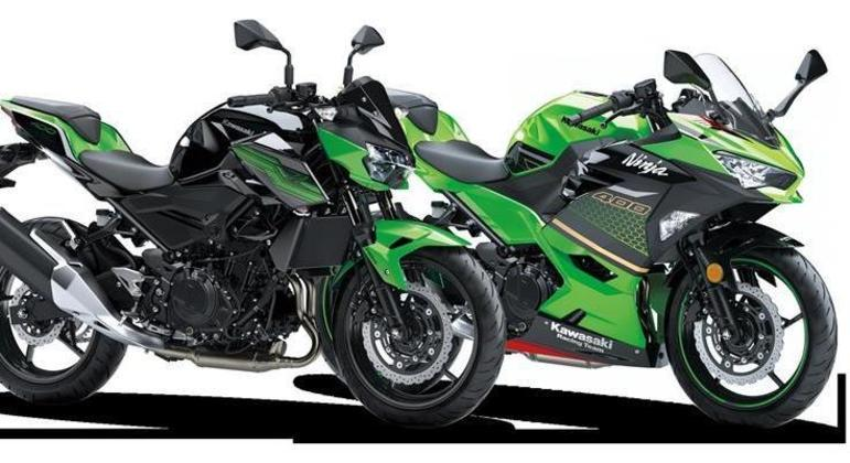 Kawasaki convoca proprietários dos modelos Z400 e Ninja 400