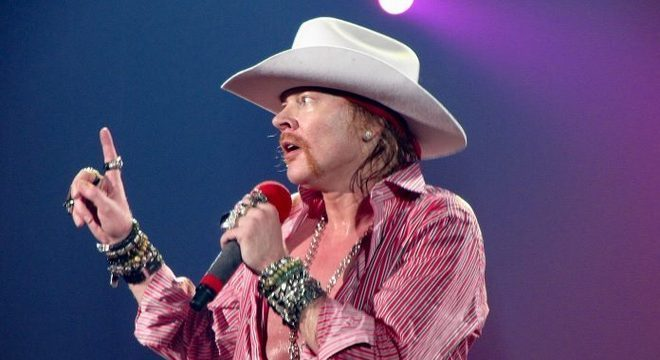 Axl Rose do Guns N