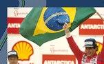 """O artista Cainã Gartner, que já homenageou atletas como Roger Federer, Acelino """"Popó"""" de Freitas e o goleiro Cássio, agora produziu uma obra de arte que homenageia o maior piloto de F-1 brasileiro de todos os tempos, Ayrton Senna. Nesta terça-feira (22), Gartner, em parceria com a Senna Brands, foi lançada mais uma série especial para os amantes do automobilismo e das artes: o trio de capacetes que representam o tricampeonato do piloto"""