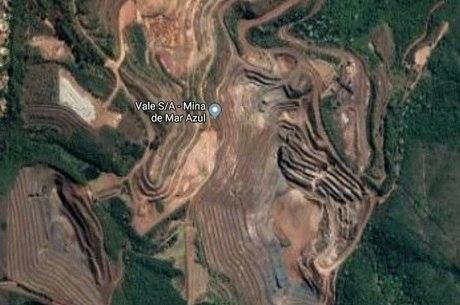 Barragem faz parte da estrutura da mina Mar Azul