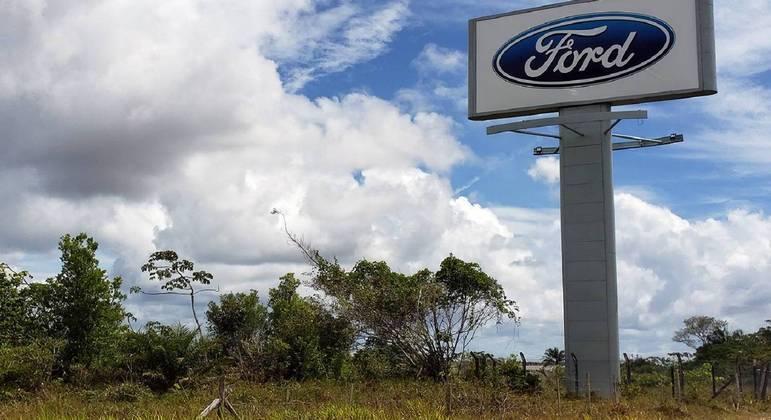 BA, 14.01.2021 – FORD-NEGÓCIOS-BRASIL: Vista do pátio da montadora Ford na cidade de Camaçari, a cerca de 50 km da capital, Salvador (BA),