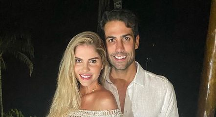 Bárbara e Gustavo já se casaram no civil