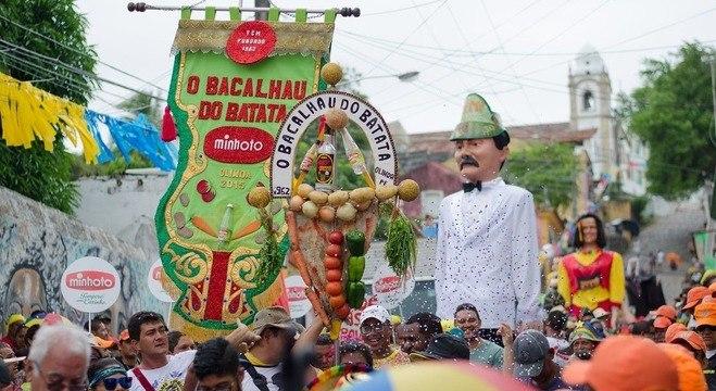 Bloco foi criado em 1962 pelo garçom Isaías Ferreira da Silva, o Batata