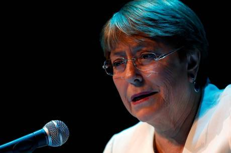 Bachelet estava em homenagem a Mandela