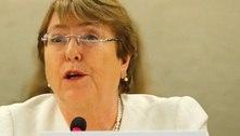 Michelle Bachelet pede fim dos combates no Afeganistão