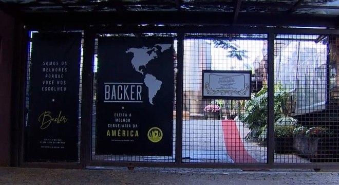 Fábrica da Backer está fechada desde o dia 13 de janeiro