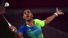 Ygor Coelho conquista 1ª vitória do Brasil no badminton em Olimpíadas