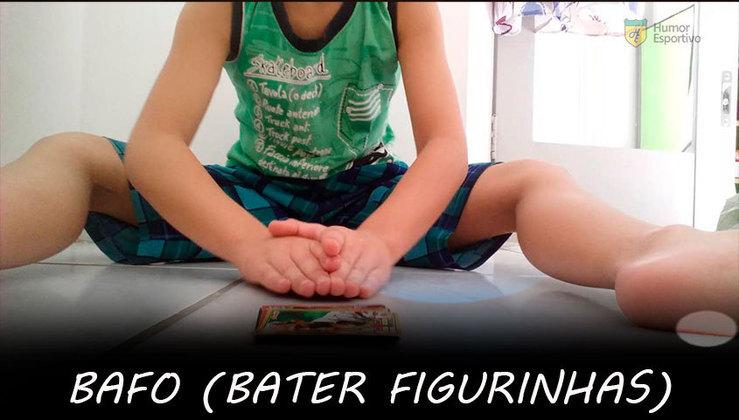 Bafo: A arte de virar figurinhas batendo com as palmas das mãos precisa ser reconhecida