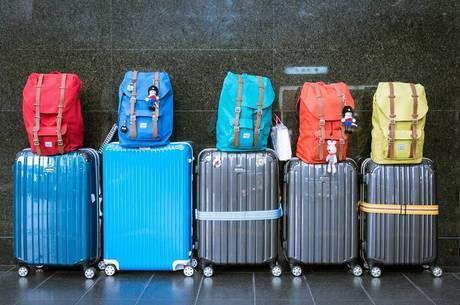 Passageiros serão orientados sobre tamanho de mala
