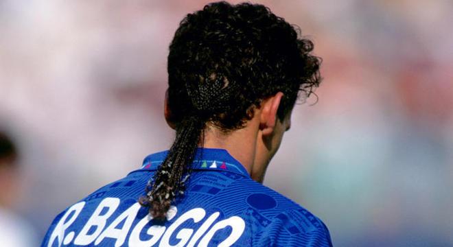 Roby Baggio, 18 trancinhas no rabo-de-cavalo