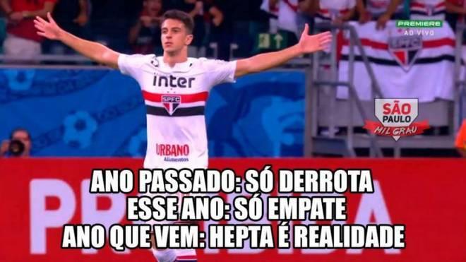 Bahia 2 x 2 São Paulo