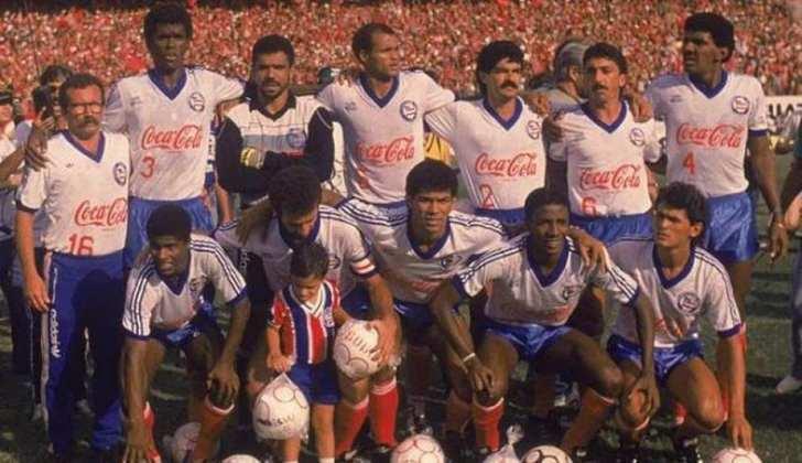 Bahia - Jejum de 32 anos - Último título: Brasileirão 1989