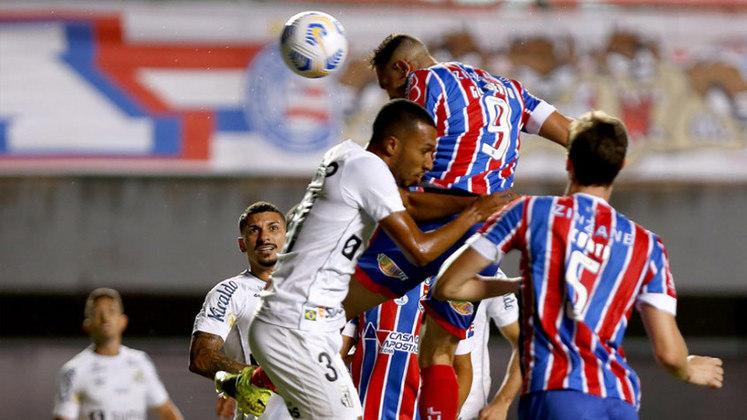 Bahia - O Bahia construiu a vitória com a dupla Rossi e Thaciano. O ponta fez as assistências para os dois primeiros gols e o meia foi perfeito nas finalizações.