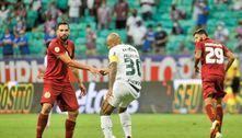 Bahia e Palmeiras ficam no 0 a 0 em Salvador, pelo Brasileirão