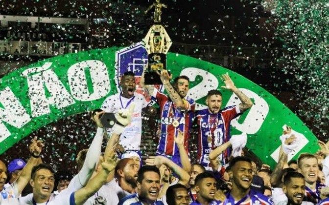 BAHIA - Última conquista: Campeonato Baiano 2020