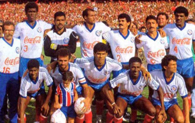 Bahia - Último título brasileiro - 1988 - Anos na fila do Campeonato Brasileiro: 32 anos
