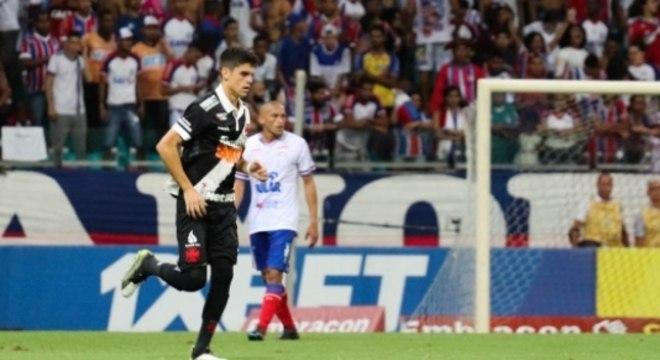 Bahia x Vasco - Gabriel Pec
