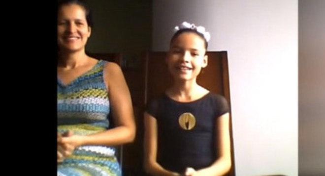 A jovem Sophia Heringer, de Belo Horizonte, levou o primeiro lugar em concurso internacional de balé promovido para incentivar a dança durante a quarentena