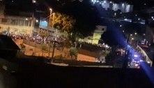 Baile funk reúne dezenas de jovens em rua de Guaianases em SP