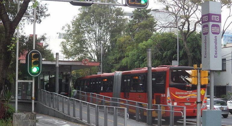 Alarme soou em bairros centrais como Escandón e Del Valle