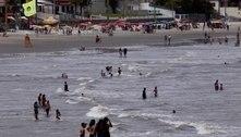 Baixada Santista tem movimento de turistas mesmo com restrições