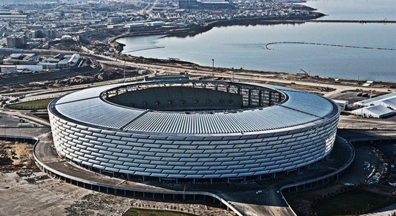 O Olimpiya de Baku, no Azerbaidjão