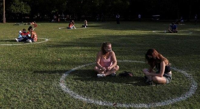 Foram reabertos 70 dos 108 parques municipais em São Paulo