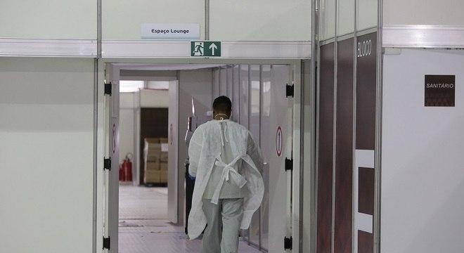 Hospital de campanha do Pacaembu foi desativado na capital paulista