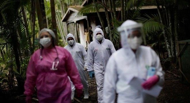 País passa por fase de interiorização de casos de covid-19, diz Ministério da Saúde