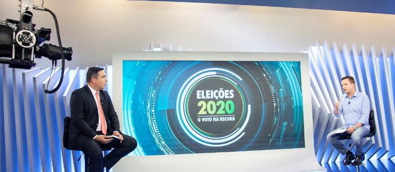 Reinaldo Gottino entrevista o candidato Celso Russomanno