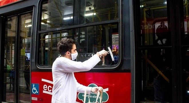 Estudo contou com dados públicos da SPTrans (companhia de transportes São Paulo)