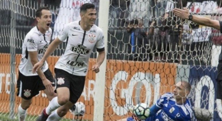 Balbuena - Corinthians x Palmeiras