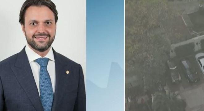 Secretário de Transportes de SP foi preso hoje em casa em São Paulo pela PF
