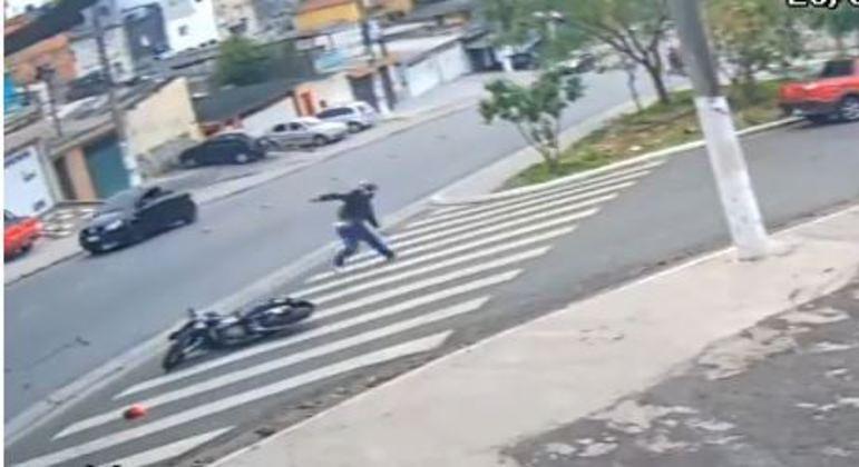 PM atira em dois suspeitos que tentaram assaltá-lo no Campo Limpo (SP)