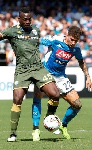 Balotelli marcou, mas Brescia perdeu